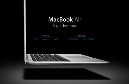 MacBook Air Guided tour