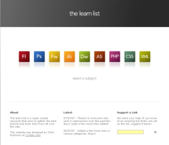 The learn list